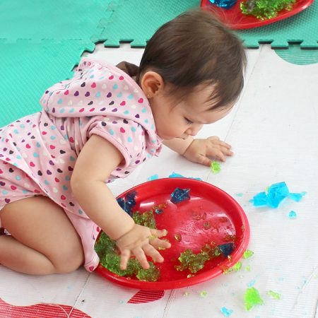 Sensory development: Evolution from 0 to 6 years