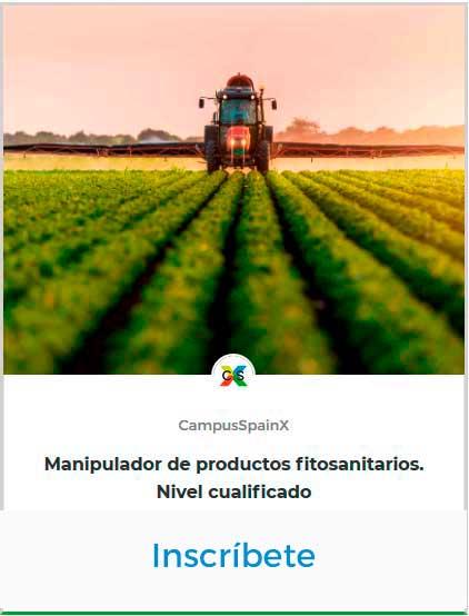 Manipulador de productos fitosanitarios NC